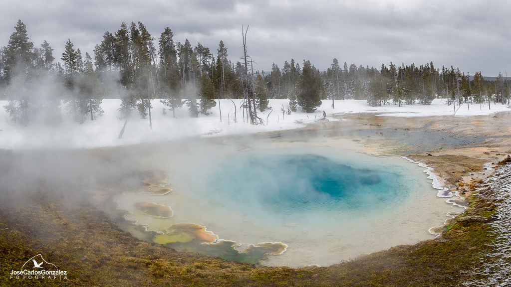 Yellowstone -  Fountain Paint Pot