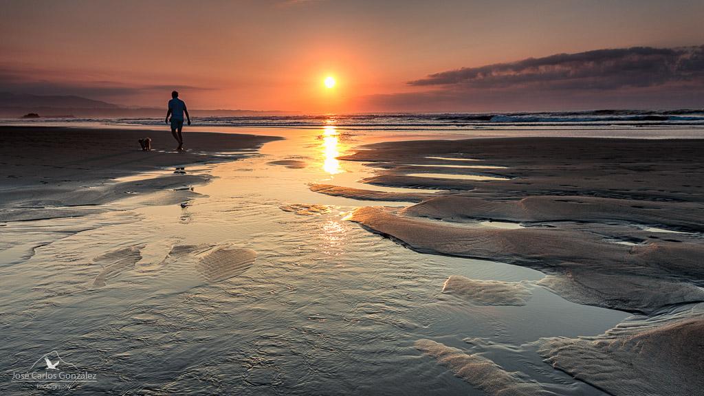 Sunset at Bayas