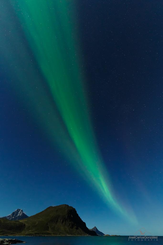 Islas Lofoten - Aurora borealis