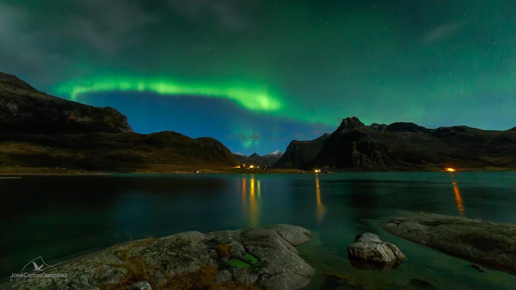 Islas Lofoten - Aurora boreal