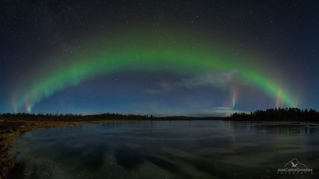 Kiruna - Arco auroral